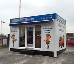 Sell your car at WeWantAnyVan Derby City branch