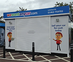 Sell your car at WeWantAnyVan Letchworth branch