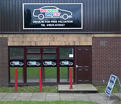 Sell your car at WeWantAnyVan Warrington branch